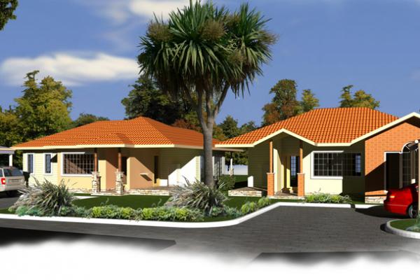 bungalows front